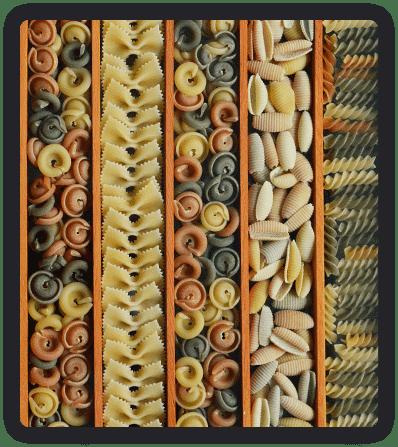 Упаковка макарон